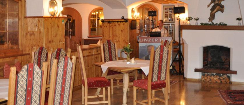 Alpenhotel Kramerwirt, Mayrhofen, Austria - Dining room interior.jpg
